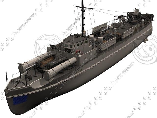 watercraft vehicle vessel 3D model