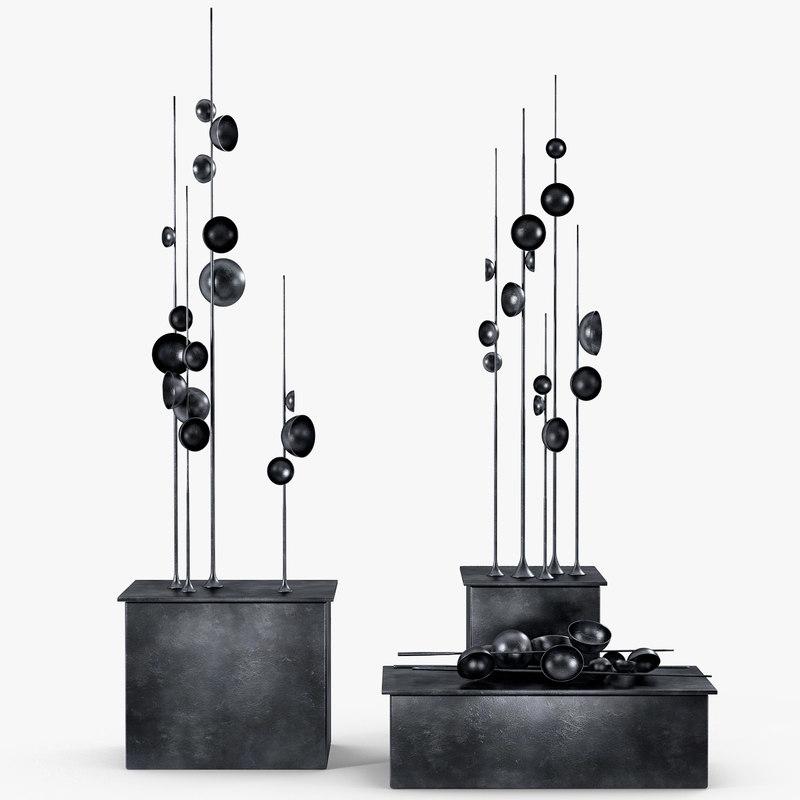 tom palmer - black 3D model