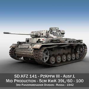 iii - ausf l 3D model