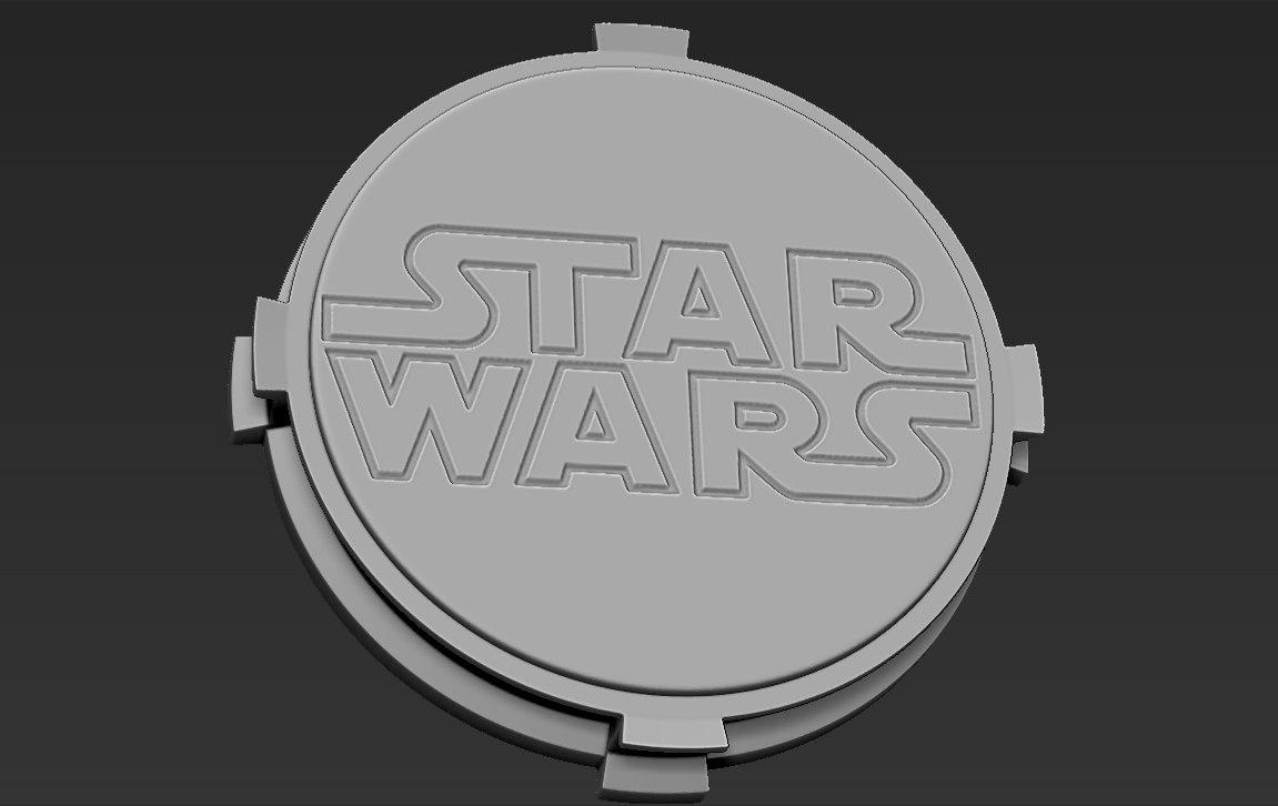 3D model base figurines star