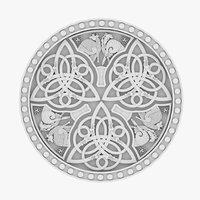 celtic ornament 10 3D model