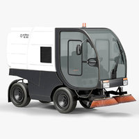 compact road sweeper rs502 3D model