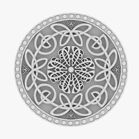 celtic ornament 12 3D model