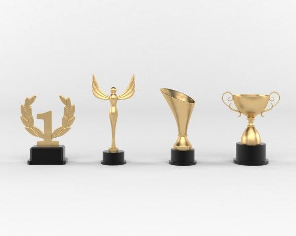 Trophy Cup 3D Models for Download | TurboSquid