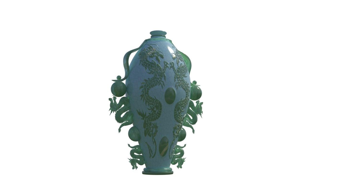 japan vase model