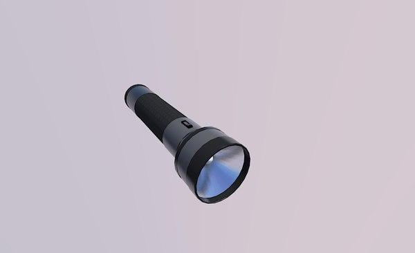 flashlight flash light 3D model