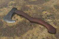 3D medieval battle axe