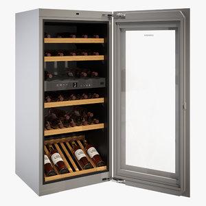 cooler wine liebherr 3D model