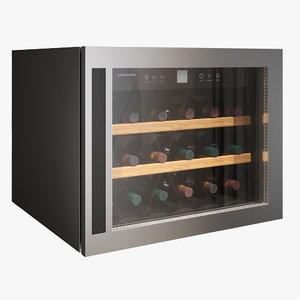 3D model cooler wine liebherr