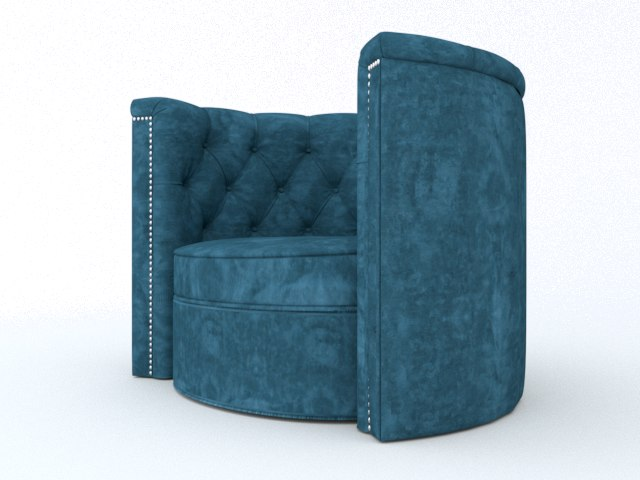 chair armchair furnishings 3D