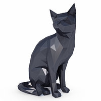Cat Low Poly v2
