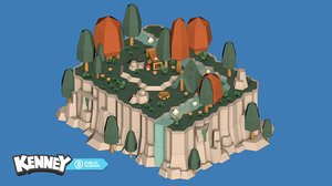 asset landscape 3D