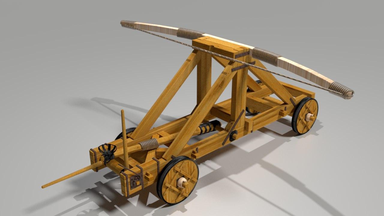 3D catapulta