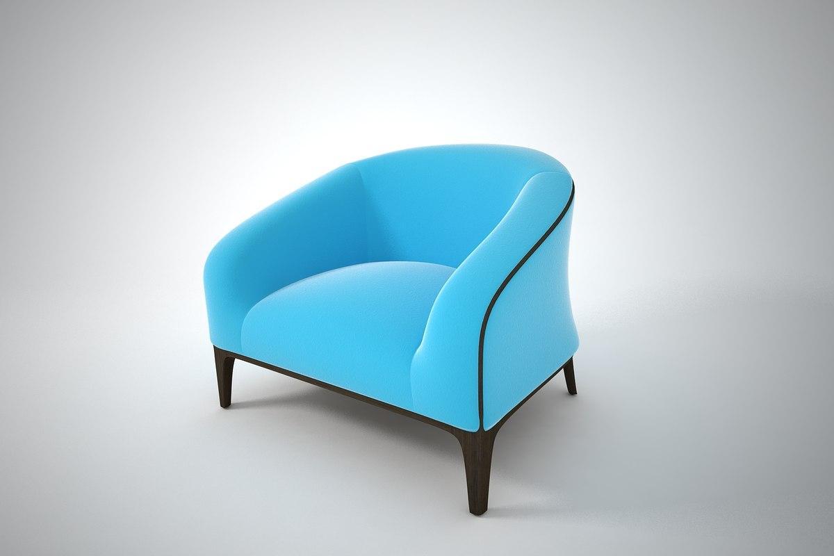 furnishings furniture chair 3D