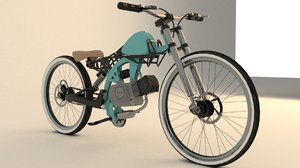 3D motorcycle moto