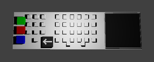 device numeric screen 3D