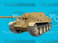 german jagdpanzer 3D model