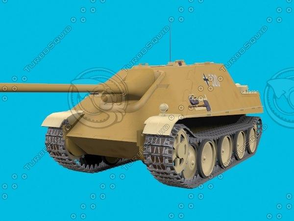 german jagdpanzer 3D model