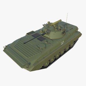 infantry vehicle bmp-2 3D model
