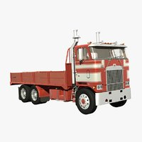 3D diamond reo royale flatbed