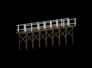 3D model pier