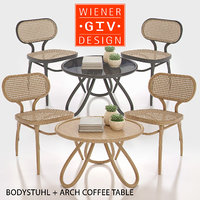 3D bodystuhl arch coffee table