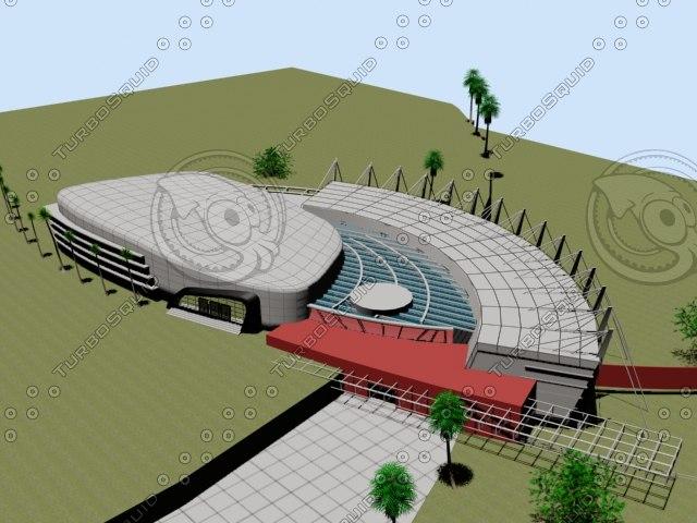 3D olympic village