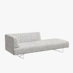 horizon sofa corner 3D model