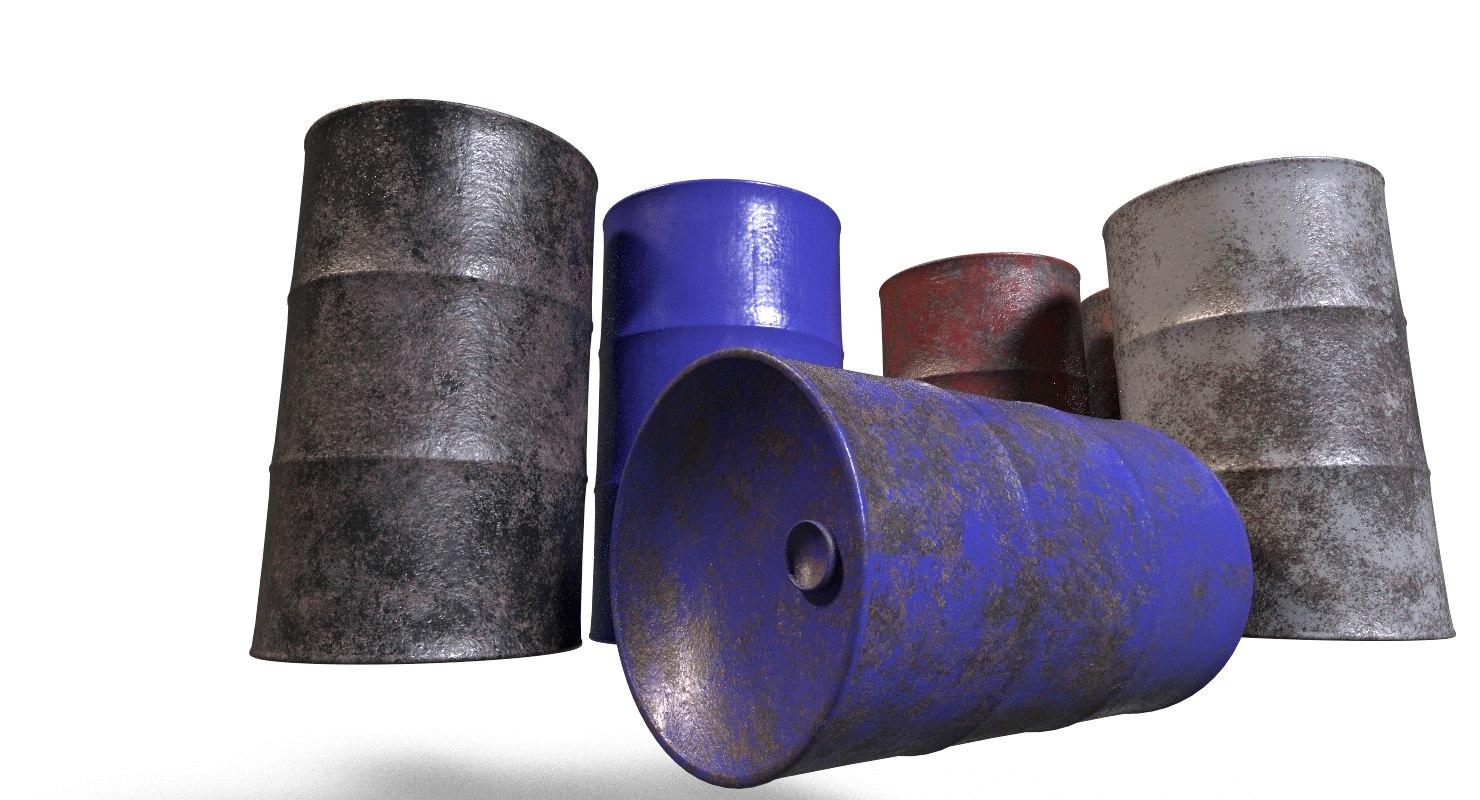 steel barrel model