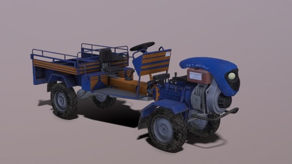 patpat agriculture vehicle pat 3D model