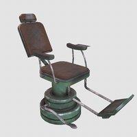 medical armchair 3D model