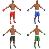 pack boxer man 3D