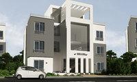 contemp twinhouse villa model