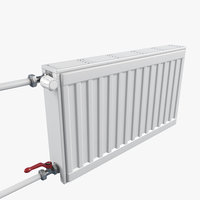 steel radiator prado classic 3D