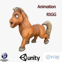3D horse model