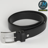 leather belt 3D