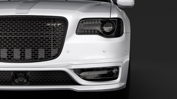 chrysler 300 srt lx2 3D model