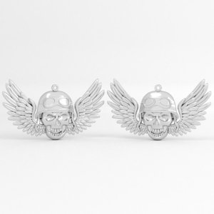 3D biker wings printable