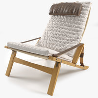 3D p b 10 lounge chair