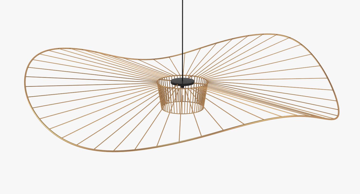 3D ceiling lamp light