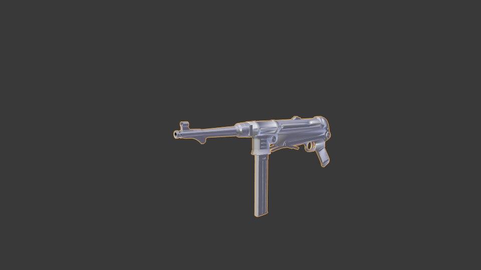 3D mp40