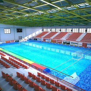 3D model arena water polo
