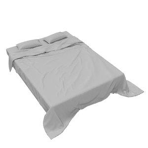 3D king size wrinkle sheets