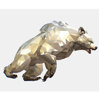 art white bear animation 3D