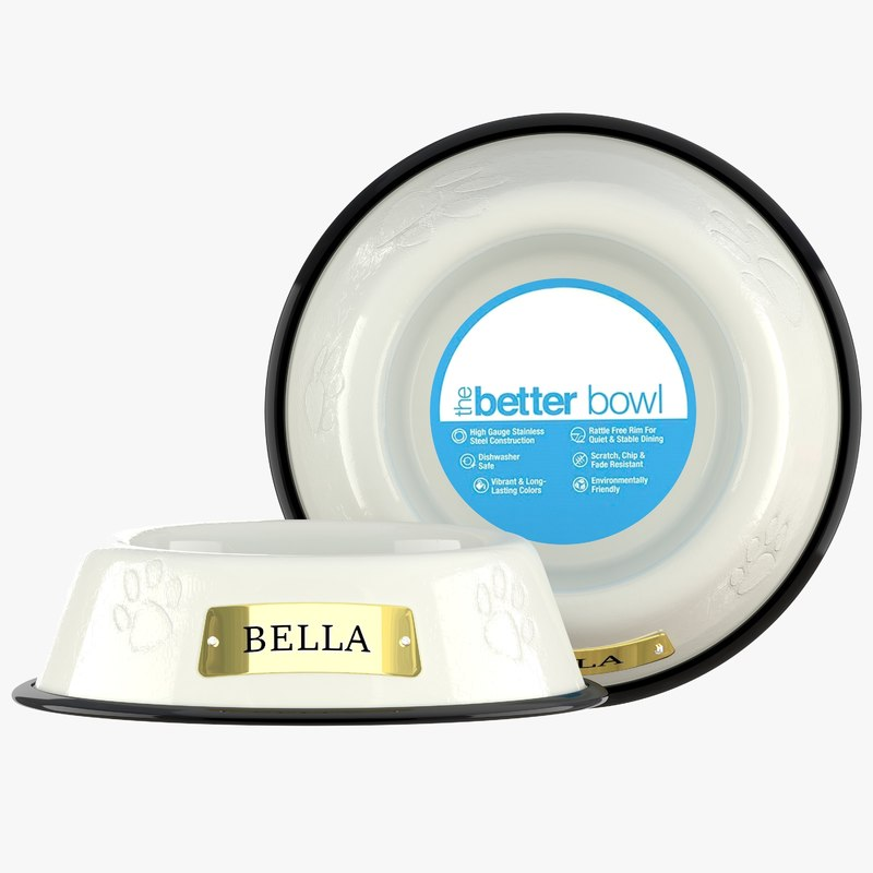 large bowl pearl white model
