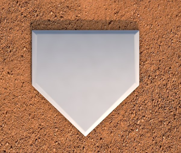 homeplate home plate 3D model