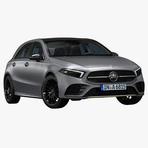 2019 mercedes-benz a-class 3D