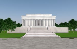memorial national monument 3D model