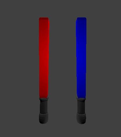 fighting sticks model