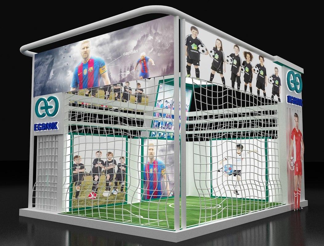 D Exhibition Booth Model : Greenlam laminates exhibition booth benew designs